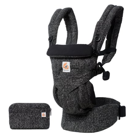 Canguru Ergobaby - Modelo Omni 360 - All-in-One - Cor Herringbone