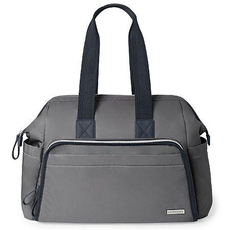 Bolsa Maternidade (Diaper Bag) MainFrame Satchel  -  Slate Skip Hop