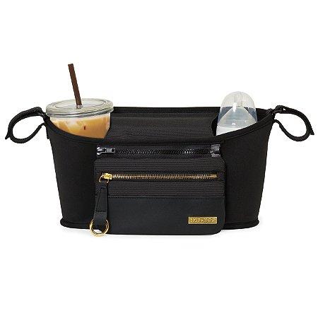Organizador para carrinho Skip Hop - Stroller Organizer - Linha Grab & Go Luxe - Estampa Black