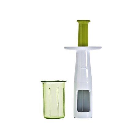 Mini Fatiador de Frutas - Verde/Branco - OxoTot