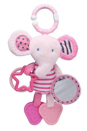 Brinquedo de Pendurar Elefante Rosa - Storki