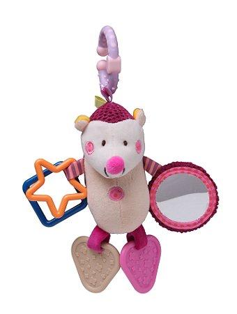 Brinquedo de Pendurar Porco Espinho Vinho - Storki