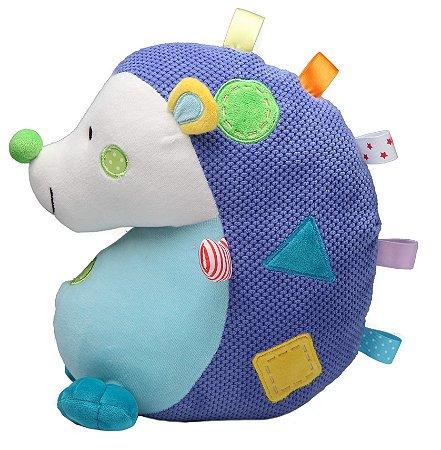 Brinquedo de Pelúcia Porco Espinho Azul - Storki