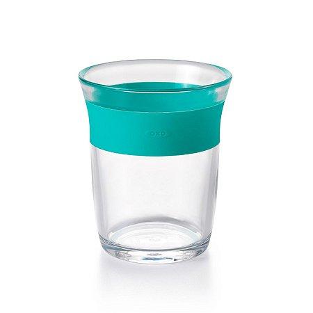 Copo Infantil linha Big Kids 150 ml OXOtot Verde Azulado