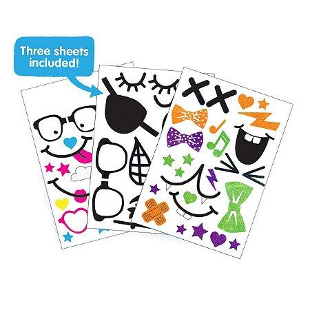 Sticker Pack Trunki - Pack com 3 folhas de Adesivos Coloridos