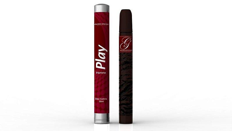 Deo Colônia Golden Dreams Cosmetics  Play 35 ml