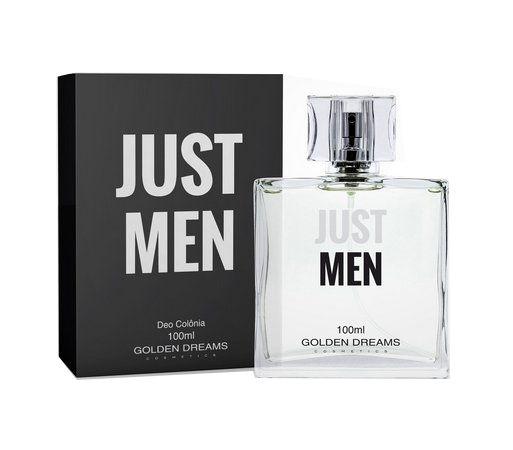 Deo Colônia Golden Dreams Cosmetics Just Men - 100 ml