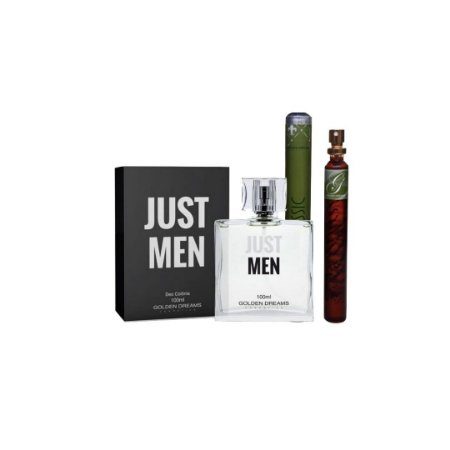 Kit Perfume Masculino Just Men Deo Colônia - 100 ml +  Classic Deo Colônia - 35 ml
