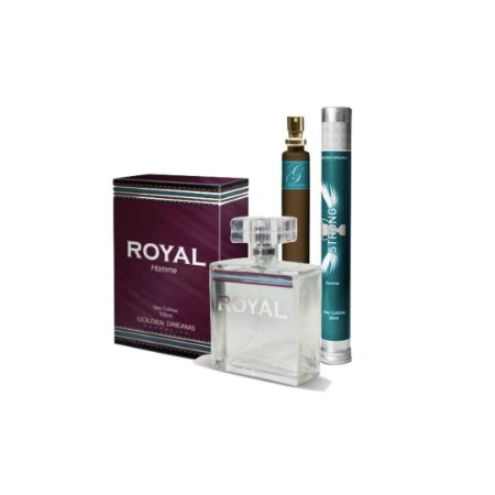 Kit Perfume Royal 100ml + Strong 35ml