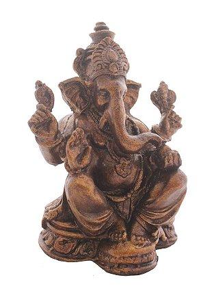 Ganesh Marrom 18cm