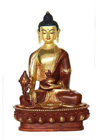 Buda Medicina Tibetano Ouro