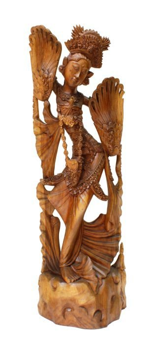 Escultura Sri Dewi Dancing 100 cm