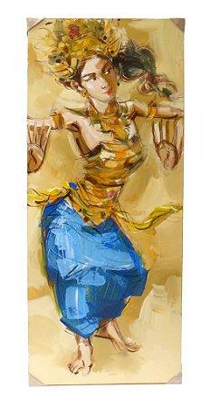 Tela Bailarina Balinesa D