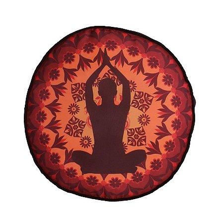Almofada Zafu Mandala e Yogi