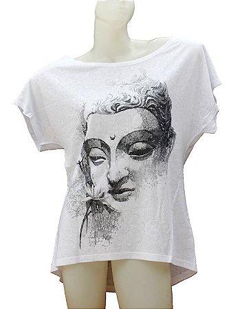 Camiseta Mullet Buda Esfumaçado