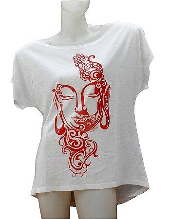 Camiseta Mullet Buda Arabescos
