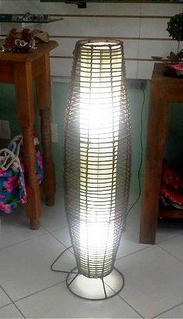Luminária Rattan 1m