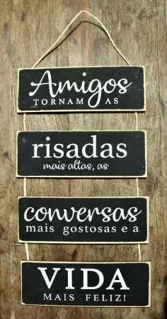 Placa Amigos