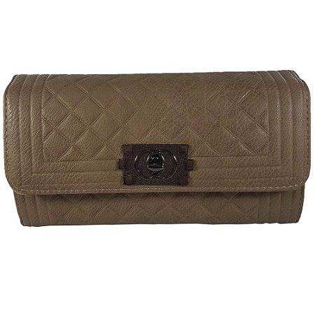 7b33738b5 Bolsa E Carteira Bag Dreams Matelassê Khaki - Bolsas Femininas - Bag ...