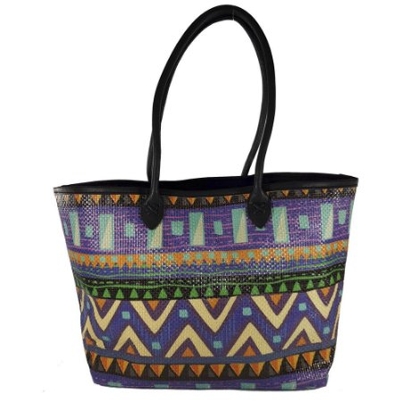 Bolsa Toque Estilo De Palha Estampa Étnica - Bolsas Femininas - Bag ... 7b8f92eeba4