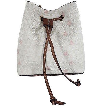 e83fbbe45 Bolsa Bag Dreams Mini Saco Triangle Branca - Bolsas Femininas - Bag ...