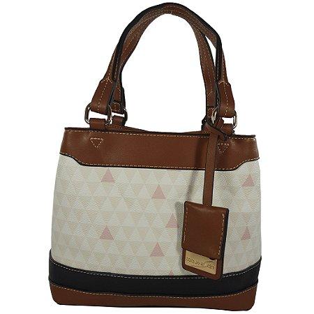 9bd94b370 Bolsa Bag Dreams Triangle Média Branca - Bolsas Femininas - Bag ...