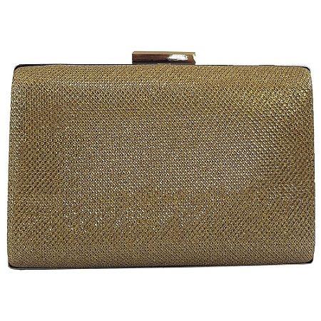 767f660ef Bolsa Bag Dreams Clutch Para Festa Liz Dourada - Bolsas Femininas ...