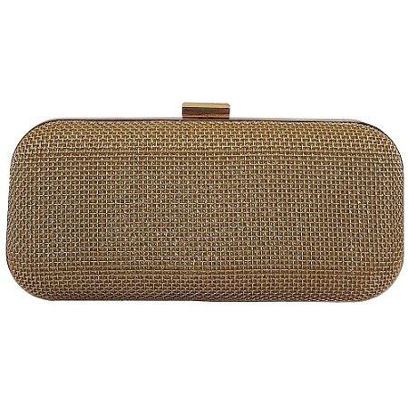 32d76003d Bolsa Bag Dreams Clutch Para Festa Marjorie Dourada - Bolsas ...