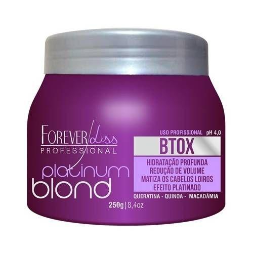 Forever Liss Matizador Platinum Blond Botox Intensive 250g