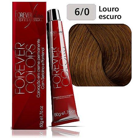 Forever Colors Coloração - Natural 6-0 Louro Escuro