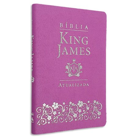 Bíblia King James Atualizada Slim Lilás