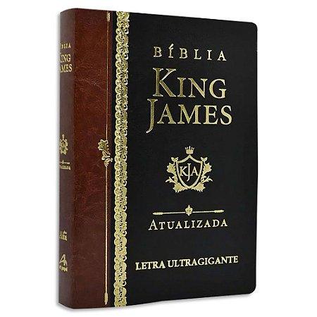 Bíblia King James Atualizada Letra Ultra Gigante