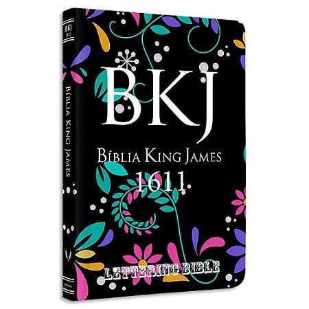BKJ 1611 Ultra Fina Lettering Bible Floral