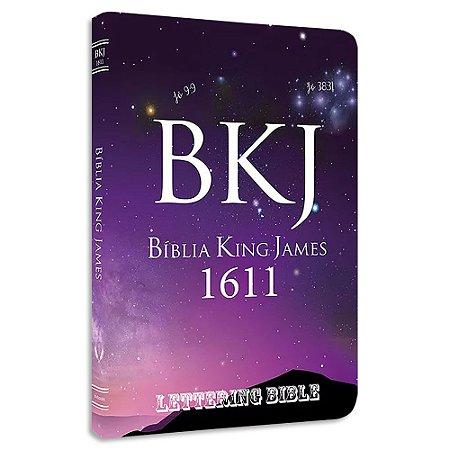 BKJ 1611 Ultra Fina Lettering Bible Universo