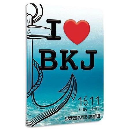 BKJ 1611 Ultra Fina Lettering Bible I Love BKJ