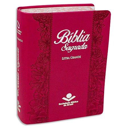 Bíblia Sagrada NAA Letra Grande Pink