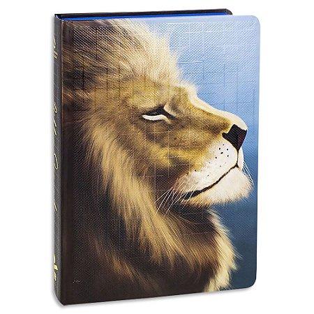 Bíblia Sagrada NAA Letra Grande capa Leão