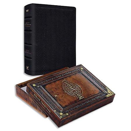 Bíblia Thompson Letra Grande Preta do Colecionador