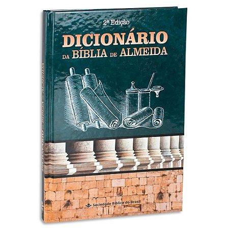 Dicionário da Bíblia Almeida 2ª Edição
