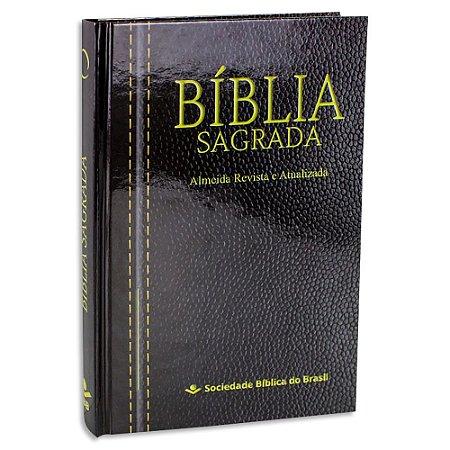 Bíblia ARA Capa Dura Preta