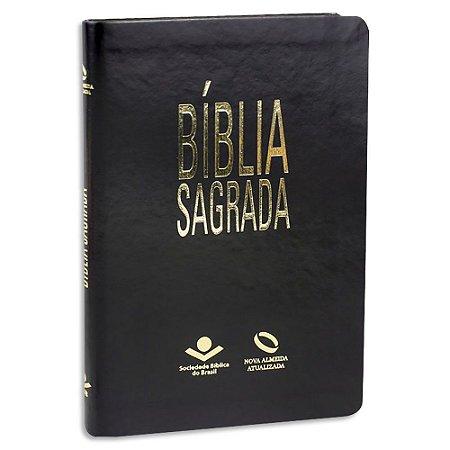 Bíblia NAA Média Preta