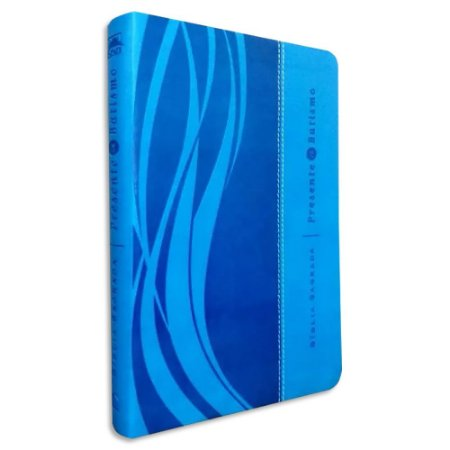 Bíblia Presente de Batismo NVI Azul