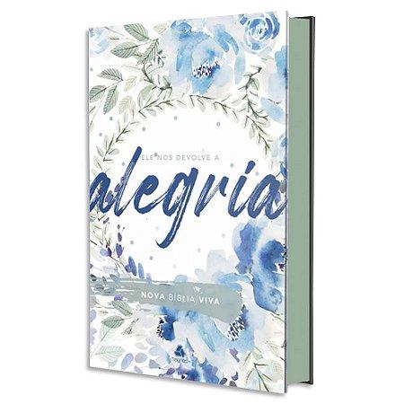 Nova Bíblia Viva Alegria Capa Dura