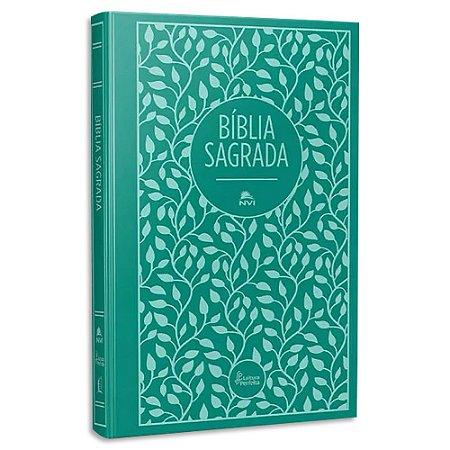 Bíblia Leitura Perfeita Capa Dura Tecido Verde