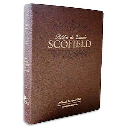 Bíblia de Estudo Scofield ACF Grande Marrom