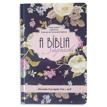 Bíblia ACF Letra Gigante Violeta