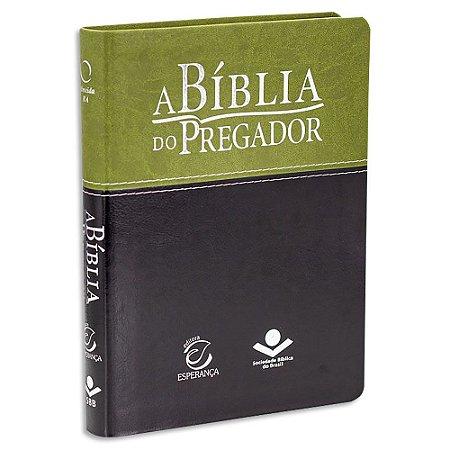 A Bíblia do Pregador Capa Verde e Preto