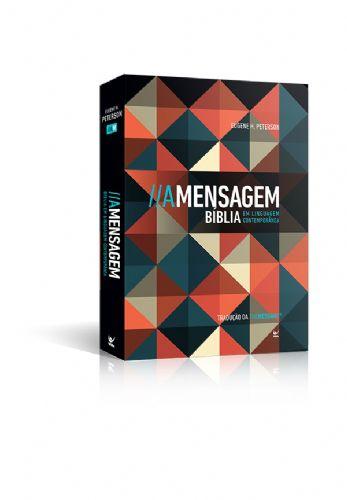 Bíblia A Mensagem Linguagem Contemporânea Brochura Vintage