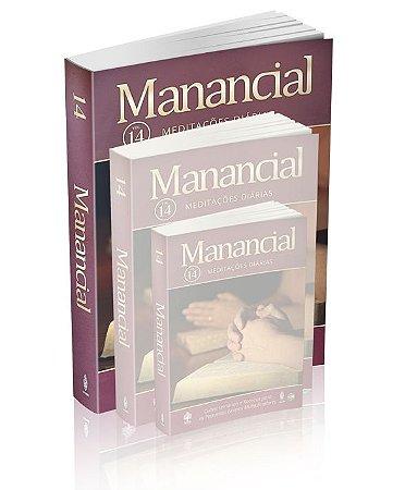 Livro Devocional 2017 Manancial - Volume 14
