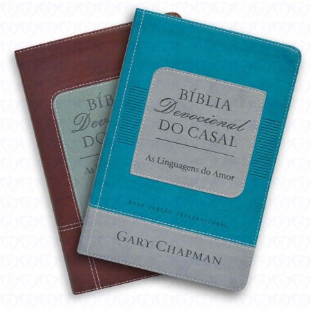 Bíblia Devocional do Casal - Gary Chapman - Bíblia NVI
